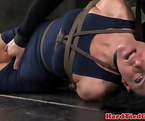 porn Box hogtied business subs pussy rubbed.., India Summer , fetish  bdsm