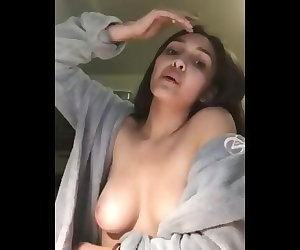 porn IG:Aisha_axa Playing with spit and.. solo