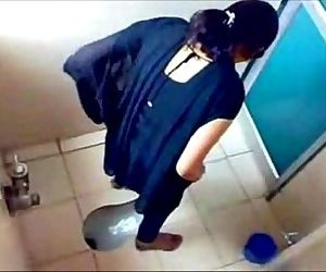 porn 3 College Girls Pissin in Toilet of.., desi , teen