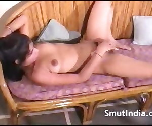 porn Indian Hairy Babe Fingering Pussy, amateur  fingering
