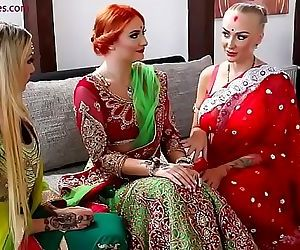 porn Pre-wedding Indian bride ceremony 9 min, Eva Berger , Jessi Empera , milf , wife  pornstar